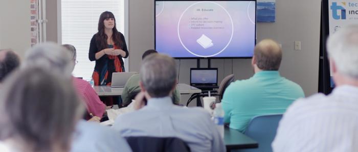 Episode 41: Nicole's Presentation at the Technology Incubator